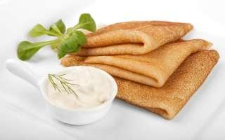 ПП блины: простые рецепты и варианты начинок